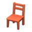 Wooden Chair (Cherry Wood)