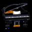 Ebony Piano