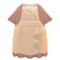 Fancy Party Dress (Beige) NH Icon.png