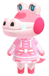 Gayle, an Animal Crossing villager.