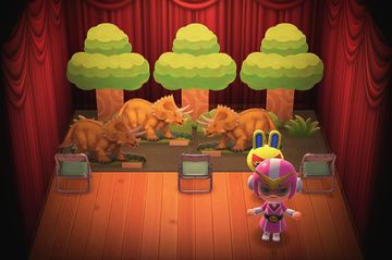 Interior of Mira's house in Animal Crossing: New Horizons
