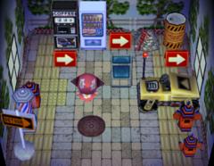 Tybalt's house interior