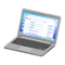 Laptop (Silver - Search Engine) NH Icon.png