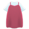 Layered Tank Dress (Berry Red) NH Icon.png