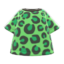 Leopard Tee (Green) NH Icon.png