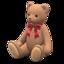 Papa Bear (Cream - Red)