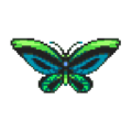 Alexandra's Swallowtail Butterfly DnMe+ Sprite Upscaled.png