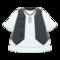 Gilet and Shirt (Black) NH Icon.png