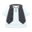 Gilet and Shirt (Black) NH Icon.png