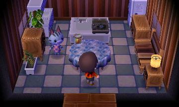 Interior of Lolly's house in Animal Crossing: New Leaf