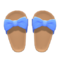 Ribbon Sandals (Blue) NH Icon.png