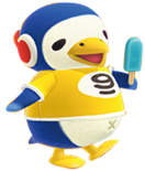 Artwork of Chabwick the Penguin