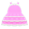 Dollhouse Dress (Pink) NH Icon.png