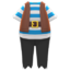 Pirate Outfit (Blue) NH Icon.png