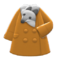 Plushie-Muffler Coat (Gray) NH Icon.png