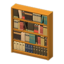 Wooden Bookshelf (Brown)