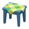 Wooden Mini Table (Blue - Green) NH Icon.png