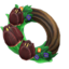 Dark Tulip Wreath