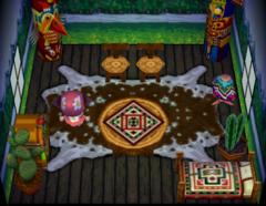 Quetzal's house interior