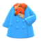 Plushie-Muffler Coat (Orange) NH Icon.png