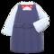 Box-Skirt Uniform (Navy Blue) NH Icon.png