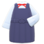 Box-Skirt Uniform (Navy Blue) NH Icon.png