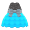 Bubble-Skirt Party Dress (Light Blue) NH Icon.png