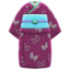 Butterfly Visiting Kimono (Fuchsia) NH Icon.png