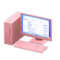Desktop Computer (Pink - Search Engine) NH Icon.png