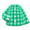 Gingham Picnic Shirt (Green) NH Icon.png