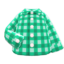 Gingham Picnic Shirt (Green) NH Icon.png
