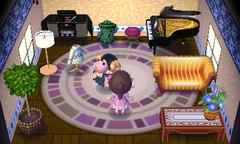 Eunice's house interior
