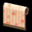Pink Flower-Print Wall