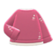 Thread-Worn Sweater (Pink) NH Icon.png