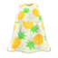 Tropical Muumuu (White) NH Icon.png