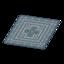 Blue Kilim-Style Carpet