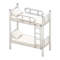 Bunk Bed (White - White) NH Icon.png