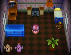 Twiggy's house interior