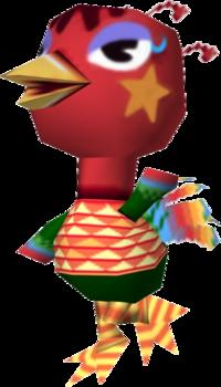 Rio, an Animal Crossing villager.