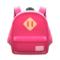 Town Backpack (Red) NH Icon.png