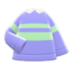 Energetic Sweater (Purple) NH Icon.png
