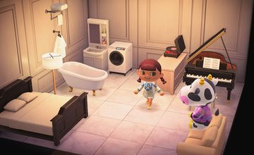 Interior of Tipper's house in Animal Crossing: New Horizons