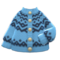 Yodel Cardigan (Ice Blue) NH Icon.png