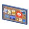Corkboard (Blue - Apple) NH Icon.png