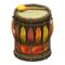 Festivale Drum (Red) NH Icon.png
