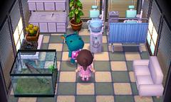 Bertha's house interior