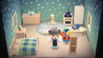 Interior of Wendy's house in Animal Crossing: New Horizons