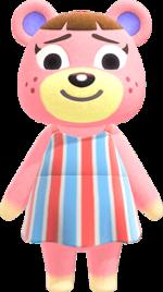 Artwork of Ursala the Bear