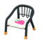 Baby Chair (Black - Strawberry) NH Icon.png