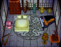 Snooty's house interior